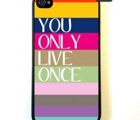 YOLO iPhone 4 Case, New Hard Fitted Case For iphone 4 & iphone 4S, YOLO iphone Case