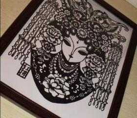 Traditional Papercut Art work - SPECIAL ITEM - Hongfu knight