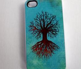 Tree of Life iPhone 4 or iPhone 4S Case Original Artwork