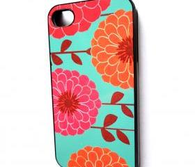 iPhone 4 iPhone 4S Case Decorative Black Plastic Case Spring Has Sprung