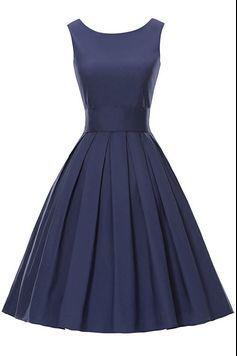 Bateau Sleeveless Short Homecoming, Formal Dress Featuring V-Back
