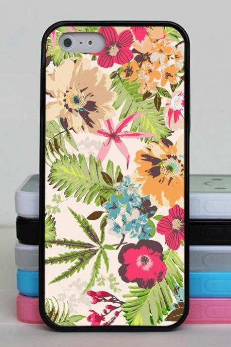 Summer Floral Phone Case for iPhone and Samsung Galaxy - iPhone 6, iPhone 6 Plus