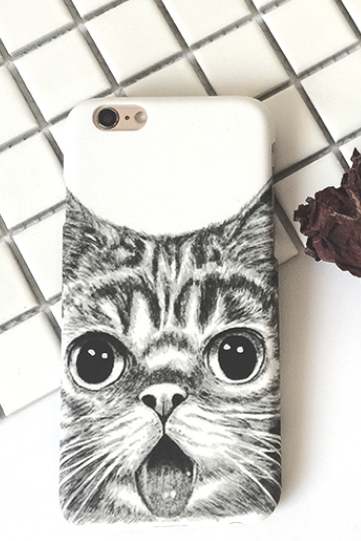 Phone cases cute cat animal iphone5/5s/6/6s/6plus/6splus cases covers accessories smart phone cases phone skins
