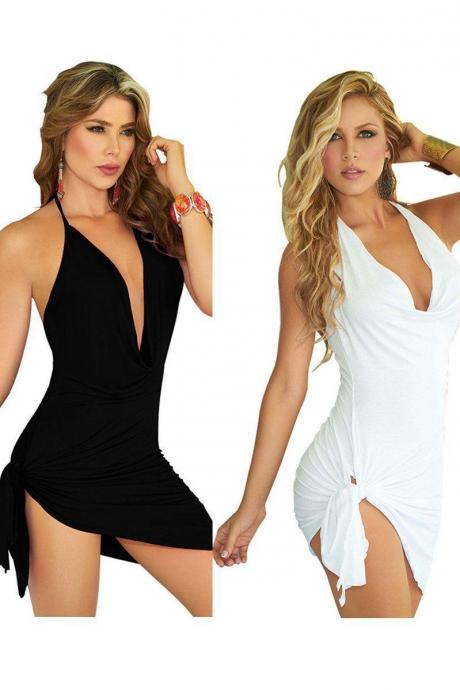 Sexy Women Summer beach Sleeveless Party Evening Cocktail Short Mini Dress