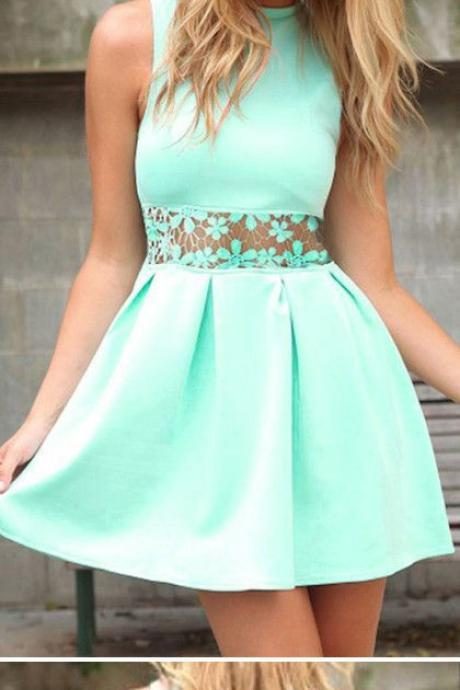 Charming Prom Dress,Satin Homecoming Dresses,Short Prom Dress
