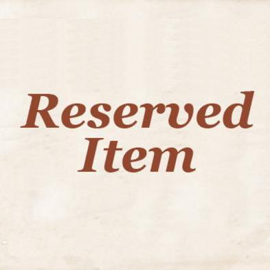 My Reserved Item
